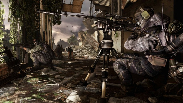 call of duty ghosts sniper rifle screenshot